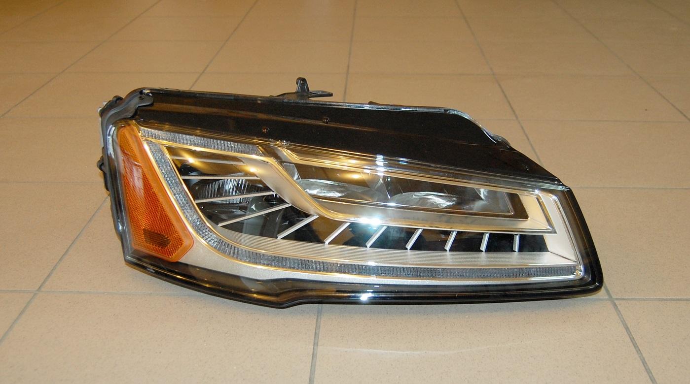 Audi A8 Headlights : New oem audi a h d full led facelift headlights right