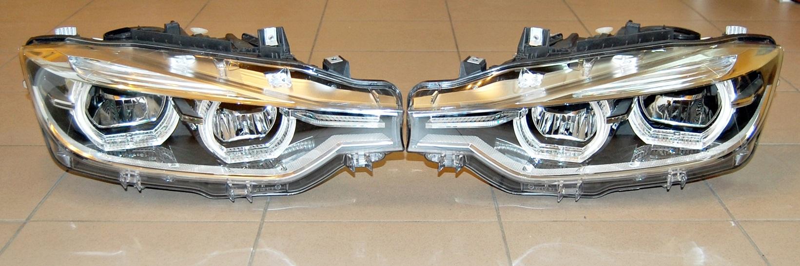 New Genuine Bmw F30 F31 Lci F35 Rhd Full Led Headlights