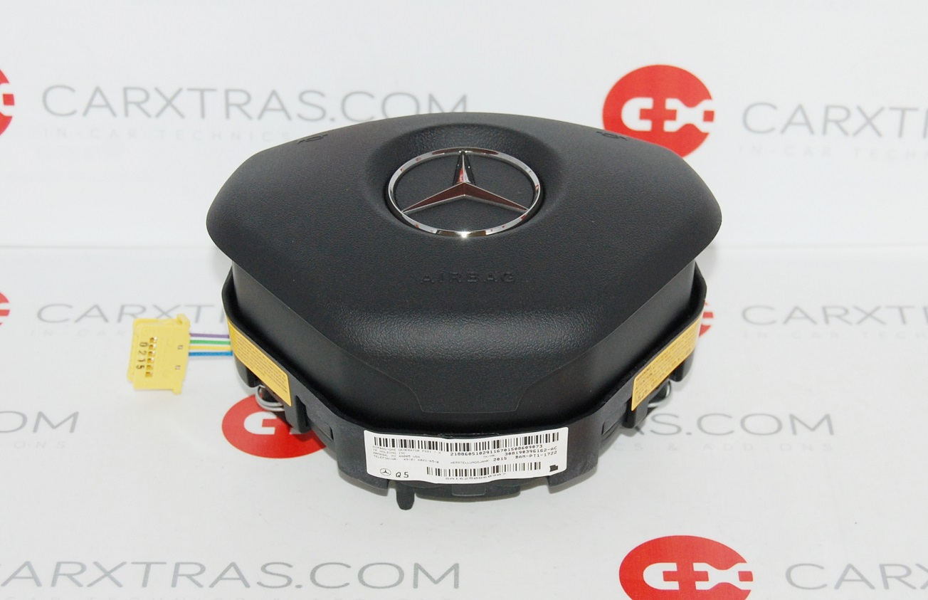New genuine mercedes benz c cls e sl slk class steering for Mercedes benz airbags