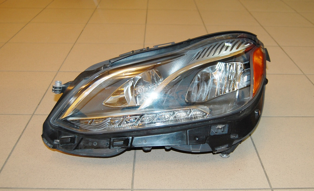 Oem 2014 2015 mercedes benz e class sedan led left for Mercedes benz headlight