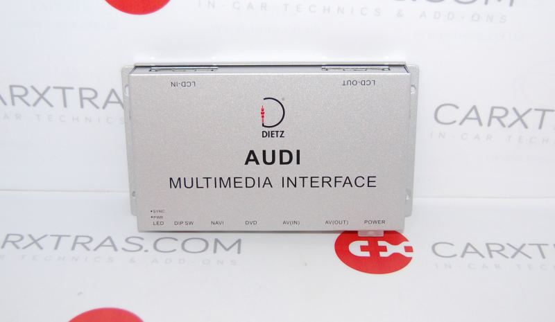 Video Multimedia Interface Audi A5 A6 A8 Q7 With Mmi Plus System 2g Dietz 1110 Ebay