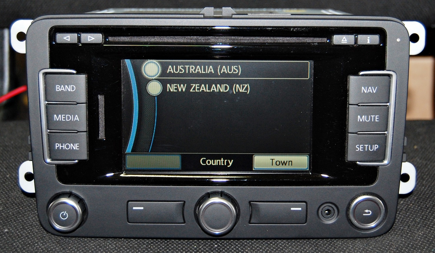 new oem vw rns 315 gps navigation bluetooth and latest v4 australian maps nz ebay. Black Bedroom Furniture Sets. Home Design Ideas