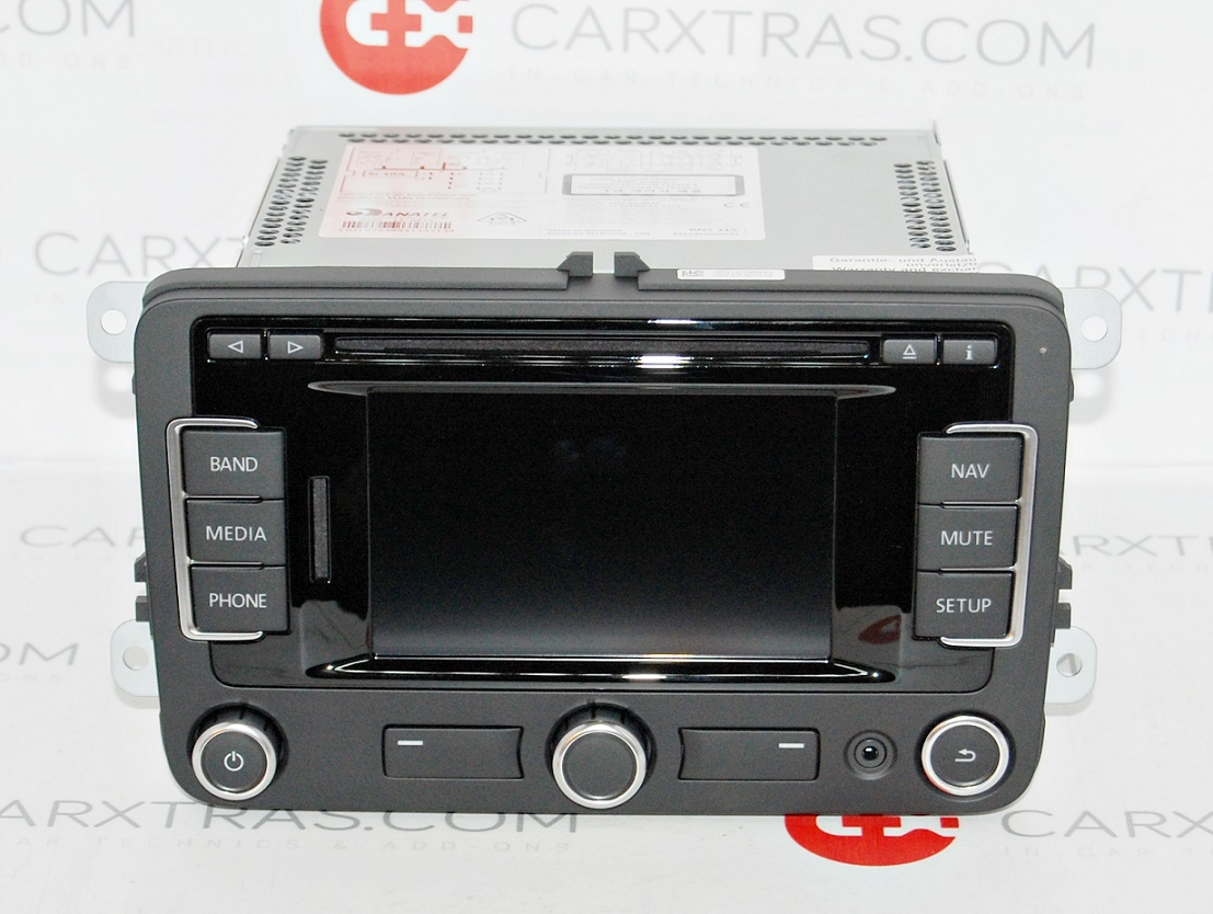 new oem vw rns 315 gps navigation latest v9 maps full. Black Bedroom Furniture Sets. Home Design Ideas